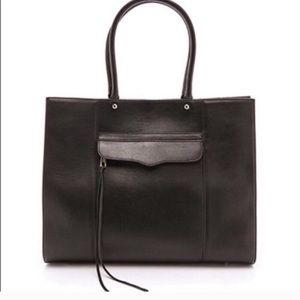 Rebecca Minkoff. Solid black Large Mab bag.